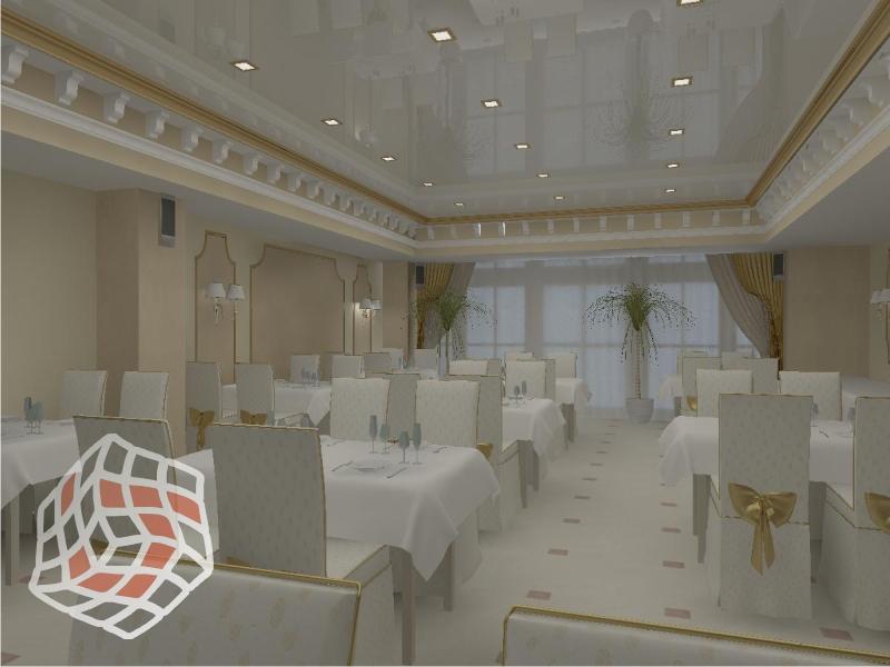 Дизайн банкетного зала фото